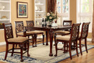 FA3185PT - Petersburg II Cherry Solid Wood 7 PC.  Counter Height Dining Table