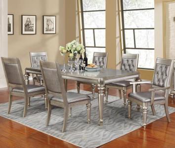 C106471   Danette 7 Pc. Rectangular Dining Table Set