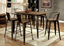 FA3529pt - Cooper II Solid Wood 7 pc. Counter Height Dining Set
