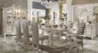 AC61130 - VERSAILLES BONE WHITE 9 PIECE DINING SET