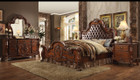 AC23140Q - Dresden Cherry Oak PU Adult Bed Set