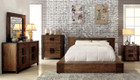 FA7628 - Janeiro  Rustic Natural Tone Adult Bed