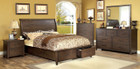 FA7252 - Riberia Dark Walnut Adult Bed