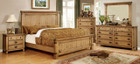 FA7449 - Pioneer Brushed Pine Bedroom Group