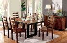 FA3606t - Madison Tobacco Oak 7 pc Dining set