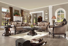 Hd09  - Anastagio Formal Wood Trim Sofa And Love Seat