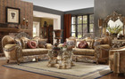 Hd622  Pasquale Formal Wood Trim Sofa And Love Seat