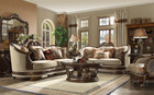 Hd1623   Teodora Formal Wood Trim Sofa And Love Seat