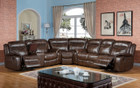 MFsf3739  Mason Reclining Sectional With Cup Holder Console