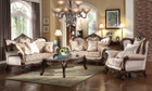 MFsf8900 Shashone Chenille And Satin Formal Sofa and Love Seat
