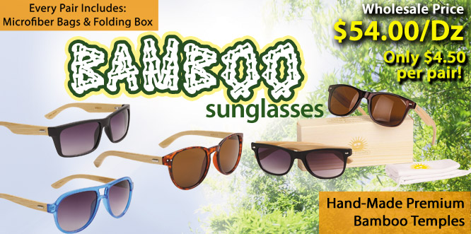 Wood Sunglasses at CTS Wholesale