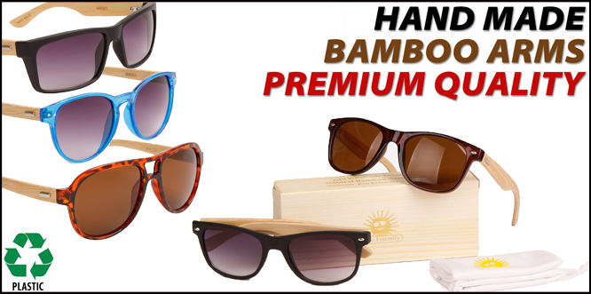 Wholesale Bamboo Sunglasses
