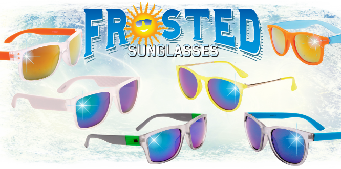 Frosted Sunglasses at CTS Wholesale