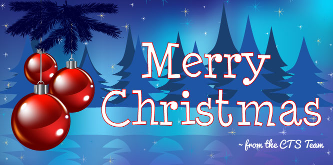 Merry Christmas from CTS!