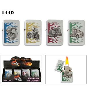 Refillable Oil Lighters