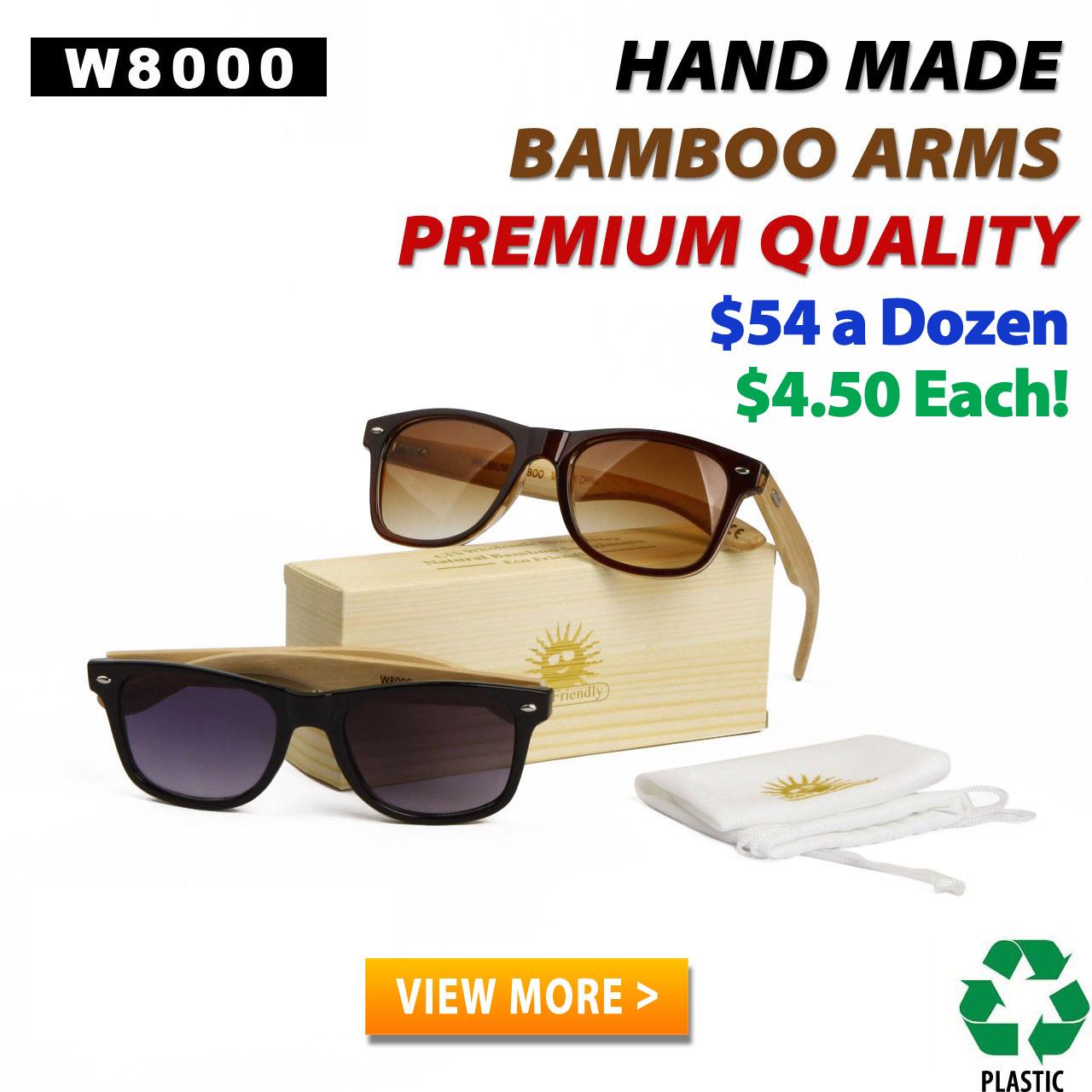 Wood Frame Glasses Shark Tank : Wholesale Wood Sunglasses at CTSwholesaleSunglasses.com