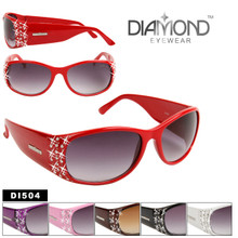 Diamond Eyewear DI504 (12 pcs.) RHINESTONE SUNGLASSES