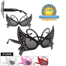 Butterfly Eye Party Sunglasses