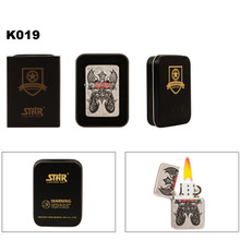 Wholesale Brass Lighter & Tin K019