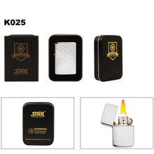 Polished Chrome Finish ~  Brass Lighter K025