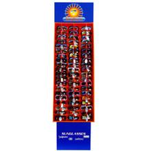 Cardboard Sunglasses Display ~ Floor Model 7003 (1 pc.) Holds 60 Pair