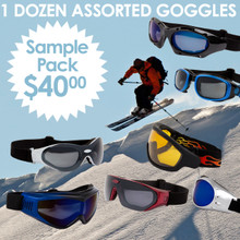 GOGGLES Sample Pack SPAGO (12 pcs.) Assorted GOGGLES