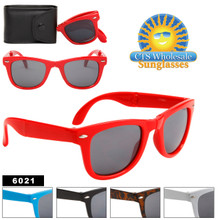 Folding Wayfarer Sunglasses 6021