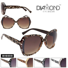 Animal Print Rhinestone Sunglasses DI6000