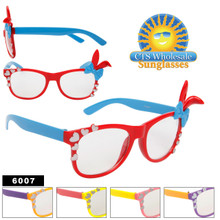 Wayfarers with Bunny Ears & Bows 6007