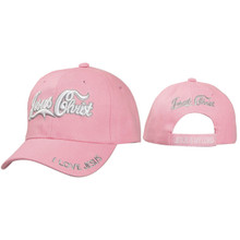 Christian Wholesale Caps ~ Jesus Christ ~ Pink