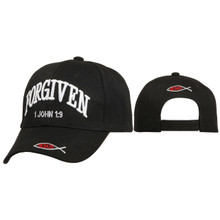 Christian Hats Wholesale ~ Forgiven ~ Black