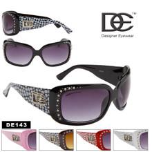 Designer Eyewear DE143 (12 pcs.) Designer Wholesale SUNGLASSES