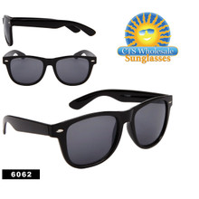 Black Wayfarer Sunglasses 6062