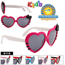 Girl's Heart Sunglasses # 8116