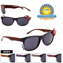 Animal Print Wayfarers with Whiskers & Bows! 8065