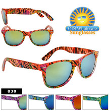 Wholesale Wayfarer Sunglasses by the Dozen - Style # 830