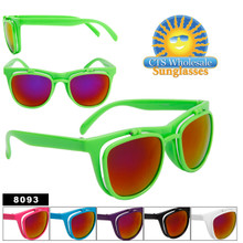 Flip Up Wayfarer Sunglasses by the Dozen 8093