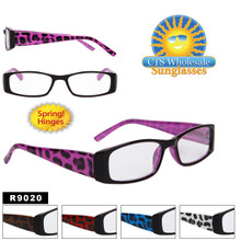 Reading Glasses with Spring Hinges R9020