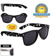 Wayfarer Sunglasses with Fleury Cross