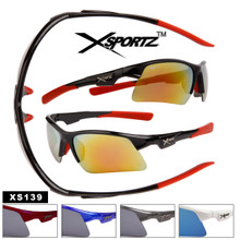 Men's Sport Sunglasses by the Dozen - Style # XS139
