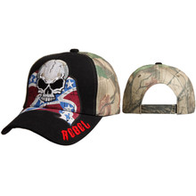 Wholesale Rebel Cap w/Skull