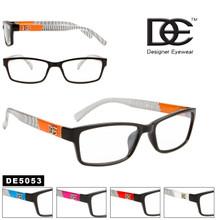 Wholesale Clear Lens Unisex Sunglasses - DE5053