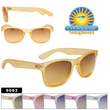 Wholesale Wayfarer Sunglasses by the Dozen - 6063