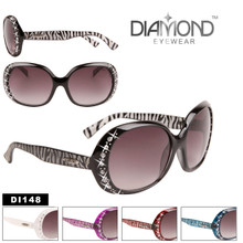 Wholesale Rhinestone Sunglasses Diamond™ Eyewear - Style #DI148