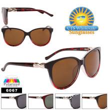 Women's Polarized Cat Eye Sunglasses Wholesale - 6067