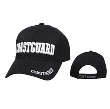 Wholesale Coast Guard Caps-Black