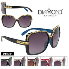 Diamond Eyewear Fashion Rhinestone Sunglasses