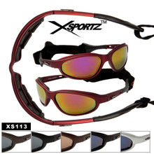 Wholesale Motorcycle Sunglasses Foam Padded - XS113