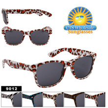 #9012 Assorted Animal Print Wayfarers