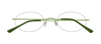 Olive with 7625 Oval lens shape